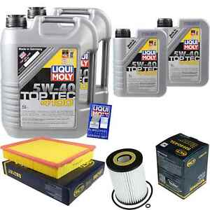 12L-Liqui-Moly-5W-40-Engine-Oil-sct-filter-MERCEDES-BENZ-SPRINTER-35-T-Case