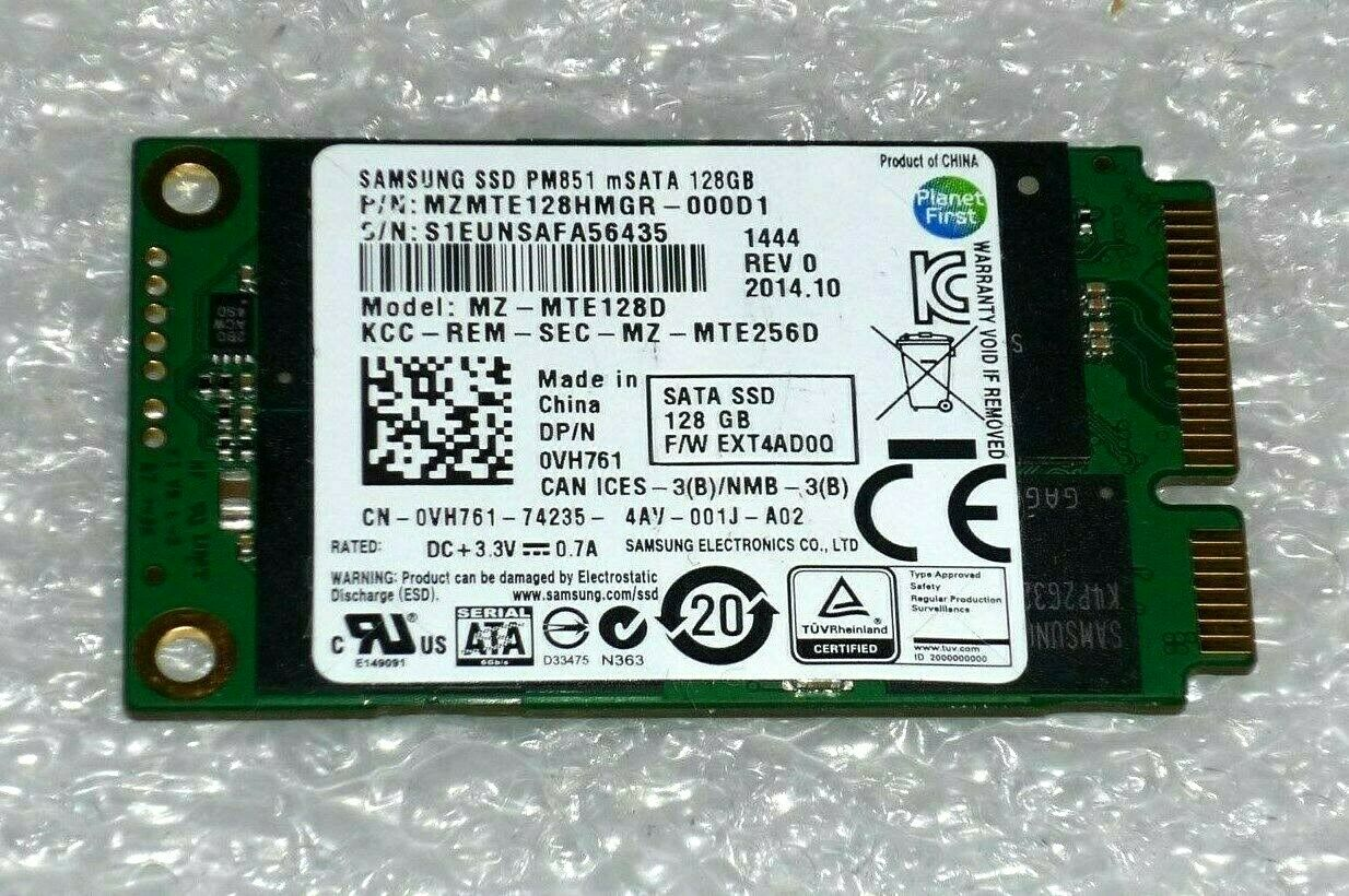 A+ 128GB mSATA SSD Samsung MZMTE128HMGR-000D1 MZ-MTE128D Solid State Hard Drive. Buy it now for 18.95