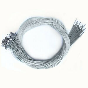 1.75m Bicycle Brake Inner Wire Cable Line For Front Rear Road MTB Bike Break 10x