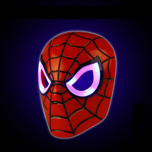 Avengers Iron Man LED Mask Light Up Cosplay Custome Accs Party Christmas Mask