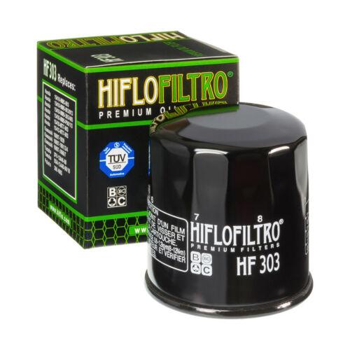 Ölfilter Hiflo HF303 Schwarz für Yamaha YZF-R1 RN12 2004-2006