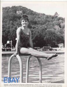 Image Is Loading Stefanie Powers Sexy Leggy Barefoot 1962 VINTAGE Photo