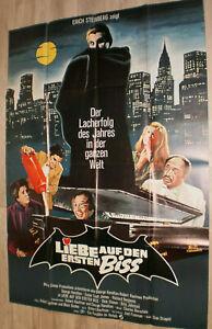 A0 Filmplakat  LIEBE AUF DEN ERSTN  BISS ,GEORGE HAMILTON,DRACULA-2