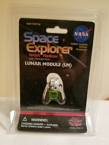 SPACE EXPLORER LUNAR MODULE TOY ACTION FIGURE NASA REPLICAS #30016 PLAY VISIONS