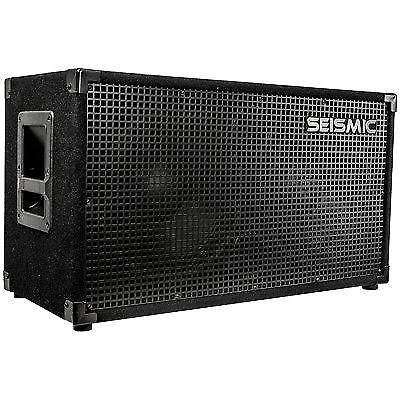 studio recording equipment seismic audio 212 guitar speaker cabinet 2x12 200 pro for sale online. Black Bedroom Furniture Sets. Home Design Ideas