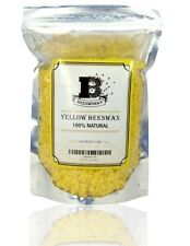 Beesworks 100% Natural Yellow Beeswax Pellets 1 lb (454 g)