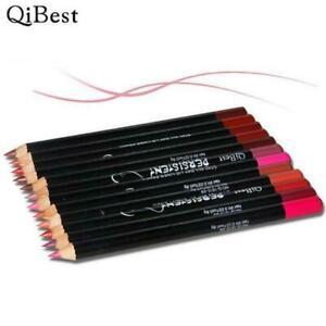 12x-Lippenstift-Wasserdicht-Beauty-Kosmetik-Lip-Lipgloss-Matte-Blitzver-Lip-Y4K2