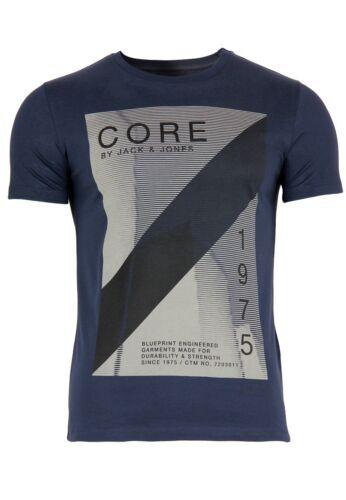 Jack /& Jones Men/'s T-Shirt Jcolusk Slim Leisure short Sleeved Crew Neck Design