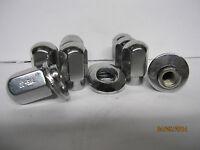 20 Lug Nuts True Ray Uni Lug Wheels 1/2-20 20 0ffset Chrome Washers Ford Car