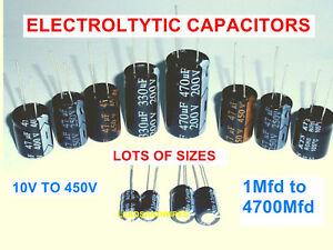 47 Mfd  Microfarad 63 Volt Electrolytic Capacitor X 10