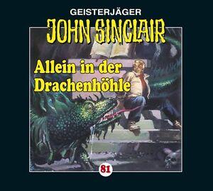 Preisalarm-HORSPIEL-CD-JOHN-SINCLAIR-Allein-in-der-Drachenhoehle-81-NEU-OVP