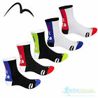 5 Pair Pack More Mile Mens Ladies Cycling Mountain Bike MTB Sports Socks Cycle