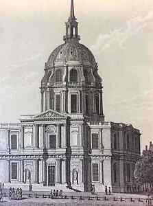 Eglise-of-Invalides-bet-1er-half-of-XIX-France