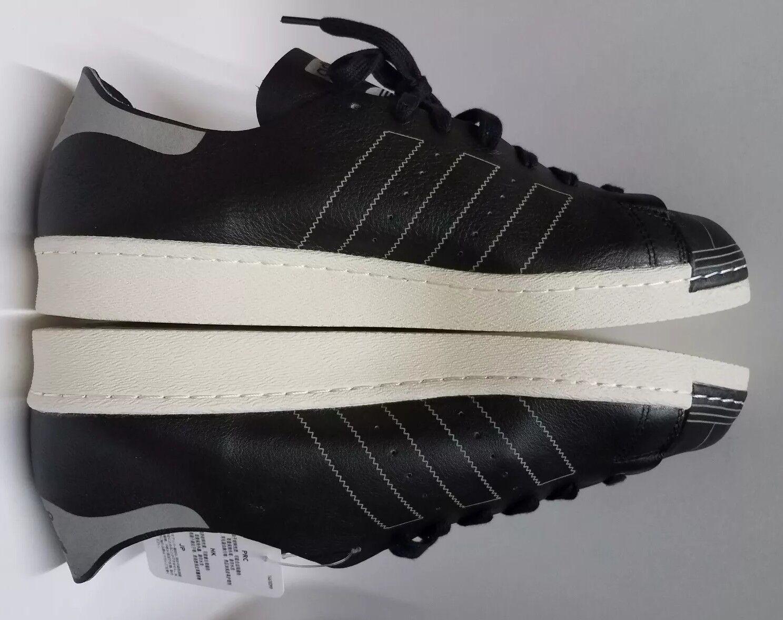 Adidas Superstar 80's DECON Black Mens Size12 Original Men's Leather shoes NEW