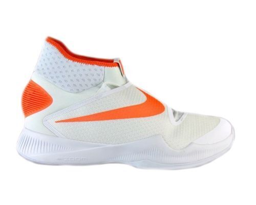 nike zoom taille hyperrev baskets 2016 blanc 835439-180 taille zoom 17 z28 orange 93d391