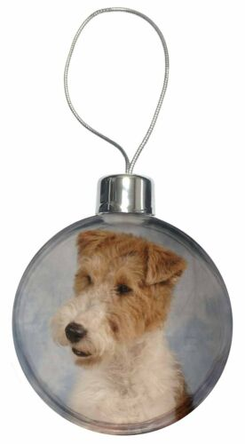 Fox Terrier Dog Christmas Tree Bauble Decoration Gift AD-WHT1CB