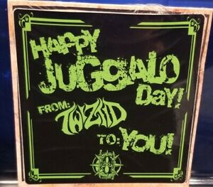 Twiztid - For Tha Fam vol. 2 CD Juggalo Day Edition SEALED insane clown posse