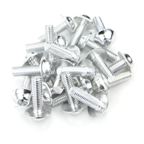 CNC Windscreen Fairing Bolts Kit Fastener Clips Screws For Buell 1190RS Silver
