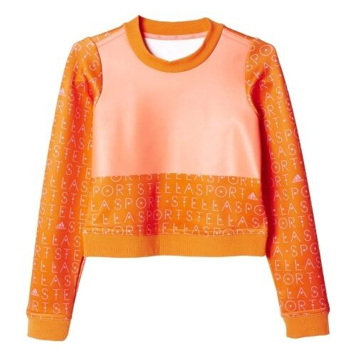 Stella McCartney adidas sweatshirt women women women sport orange new AH8870 SC SLIM SWEATER 8e0dd7