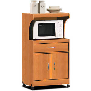 Image Is Loading Microwave Cart Drawer And Shelf For Storage Utility