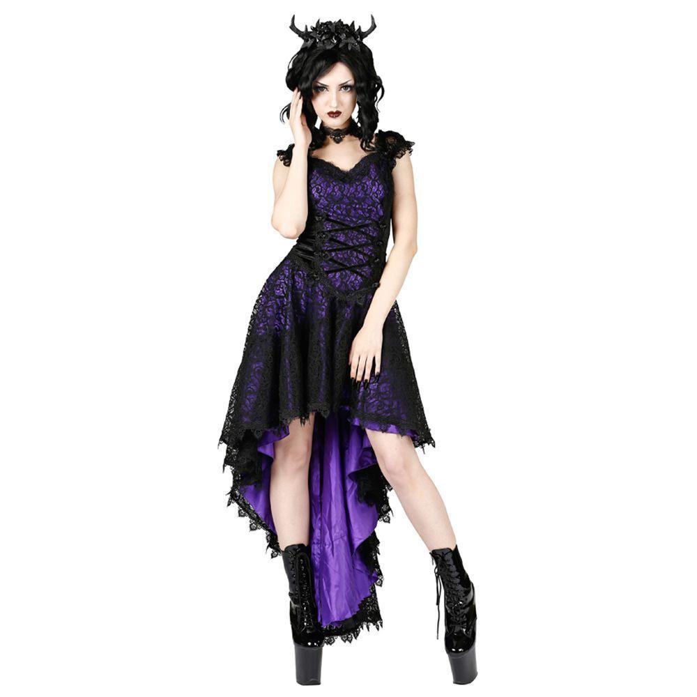 Sinister robe violet ROhommeCE Dream-Vampires-Gothique-abschlussbsll - mariage-dentelle