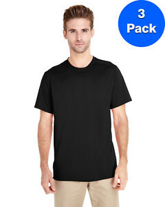 Gildan-Mens-Tech-Short-Sleeve-T-Shirt-3-Pack-G470-All-Sizes