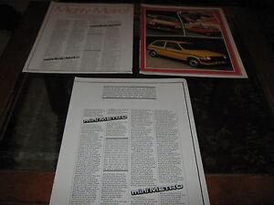 Austin-Mini-Metro-Triumph-TR7-Ford-Escort-Alfa-Romeo-XR3