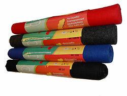 Moquette acoustique caisson hifi sono feutre 70 140cm ebay for Moquette feutre
