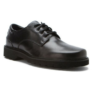 37a0fd4e08601b Image is loading Rockport-Northfield-Casual-Lace-Up-Shoe-Black-APM21681-