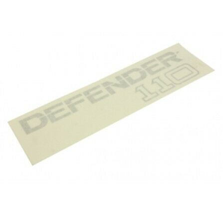 LAND ROVER Badge Decal Defender 110 Rear Body BTR1049