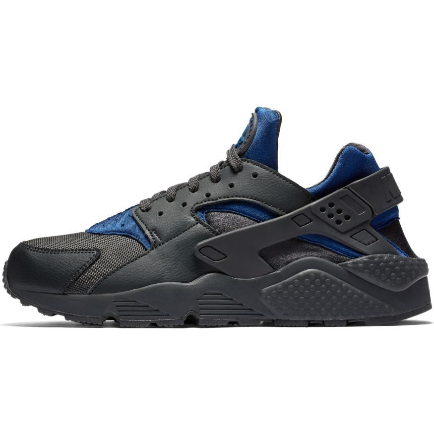 Nike Men's AIR HUARACHE Shoes Gym Blue 318429-418 b