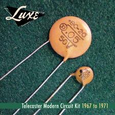 Luxe1967-1971 TELECASTER MODERN Schematic KIT .05mf & .001m for fender guitars