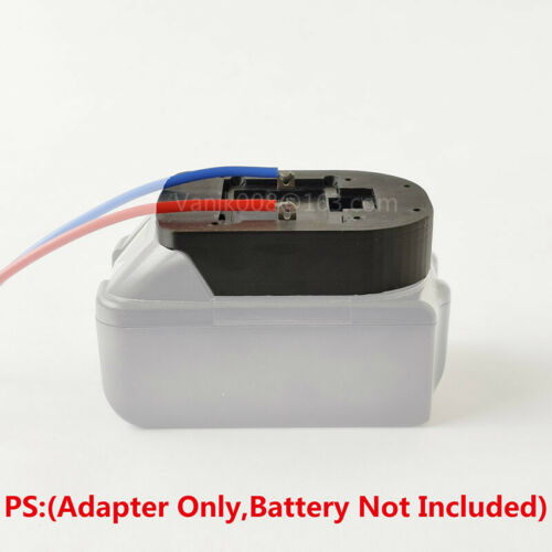 Line #14AWG Makita 18V Slider Li-ion Battery DIY Connection Line Output Adapter