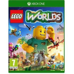 Lego Worlds Xbox One Great 7 Kids Game Brand New Sealed X1 1 Ebay