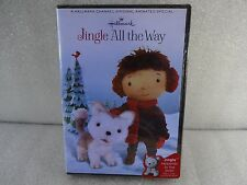 Jingle All The Way  Hallmark Channel Original Animated Special  dvd new sealed