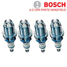 B867FR78X For VW Golf 1.4 1.6 1.8 4motion 2.0 GTI Bosch Super4 Spark Plugs X 4