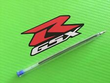 GSXR logo Track bike or road fairing Decals Stickers PAIR SMALL REF#13S