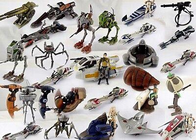 Vintage Star Wars Mini-Rigs /& créatures-Veuillez Choisir De Sélection
