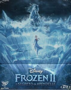 Frozen-2-Il-Segreto-Di-Arendelle-2019-s-e-Blu-Ray-DVD-metal-box