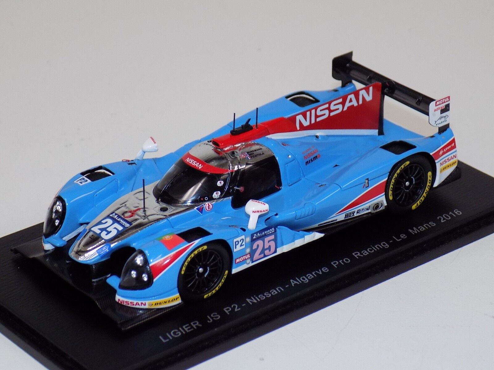 1  43 Spark Ligier JS P2 Nissan bil Hours of LeMans S5110