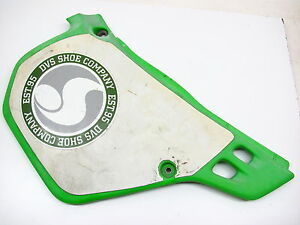 KAWASAKI-FRAME-SIDE-COVER-RIGHT-1990-1991-KX125-KX250-KX-125-250-90-91