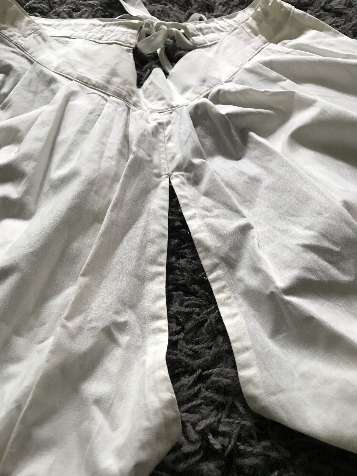 Vintage Pantaloons Antique Cotton Bloomers Edward… - image 3