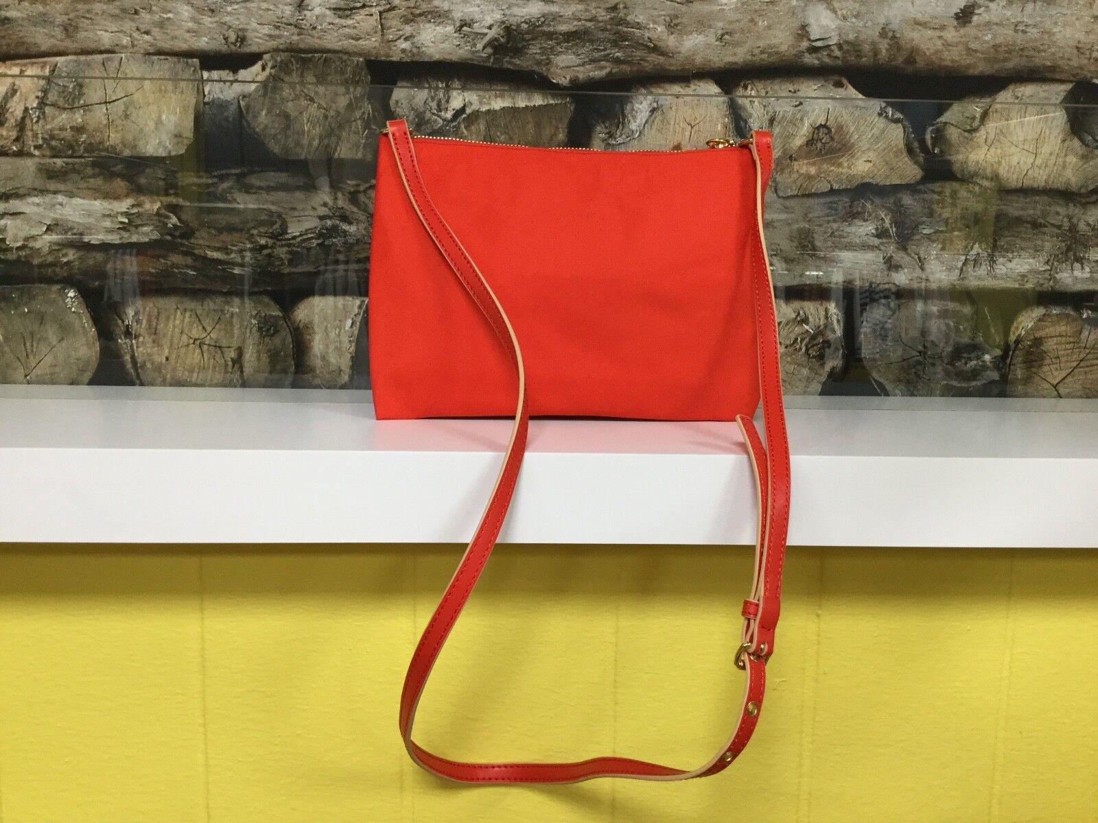 BIMBA Y LOLA Damen Tasche Clutch Clutch-Tasche Bag Beige Beige Beige Rot Träger Nylon   NEU | Bestellung willkommen  | Abrechnungspreis  | Großer Verkauf  7aa1e8