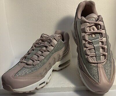 Women's Nike Air Max 95 Size 9 Shoes Rose Glitter Sparkle AT0068 600 888507768988 | eBay