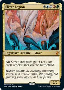 Sliver Legion x1 Magic the Gathering 1x Time Spiral Remastered mtg card