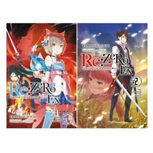 Details about RE: Zero Starting Life in Another World Ex LIGHT NOVELS Set  of Volumes 1-2