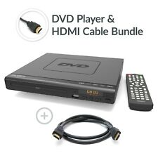 Majority Scholars Compact DVD Player HDMI Upscaling USB Multi Region & HDMI Lead