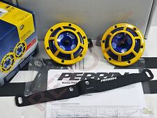 Perrin Mounting Bracket & Yellow Hella Supertone Horn For 02-07 WRX/ STi