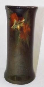 Weller-Pottery-USA-Louwelsa-Corseted-Vase-Flaws