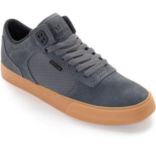 Tamaño Nuevo Gum 8 para Grey Vulc hombre Zapatillas Supra skate Ellington Pro de zFzq7wr